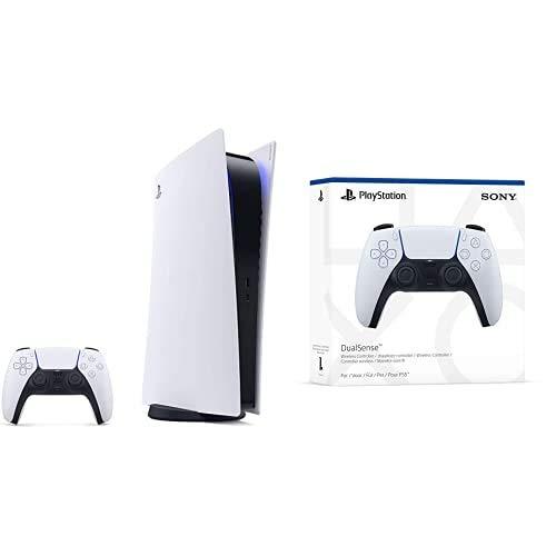 PlayStation 5 Consola Digital + Mando inalámbrico DualSense