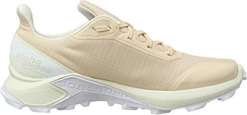 Salomon Damen Trail Running Schuhe, ALPHACROSS GTX W, Farbe: beige (bellini/vanilla ice/white) Größe: EU 40