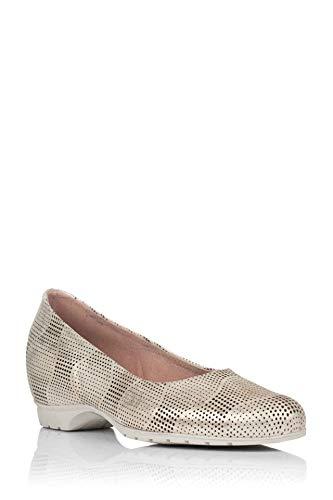 Pitillos Schuh aus vergoldetem Leder, Gold - gold - Größe: 37 EU