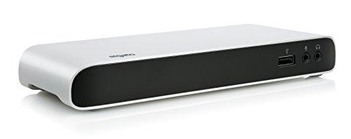 Elgato Thunderbolt 3 Dock - with 50 cm Thunderbolt Cable, 40Gb/s, Dual 4K Support, 2x Thunderbolt 3 (USB-C), 3x USB 3.0, Audio Input and Output, Gigabit Ethernet, Aluminum Chassis