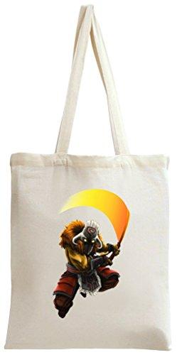 Dota 2 Hero Juggernaut Sword Tote Bag