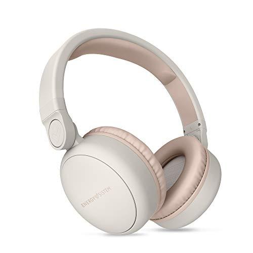 Energy Sistem Headphones 2mit Bluetooth-Kopfhörer (Over-Ear, Audio-In, Long battery Life, 180klappbar beige