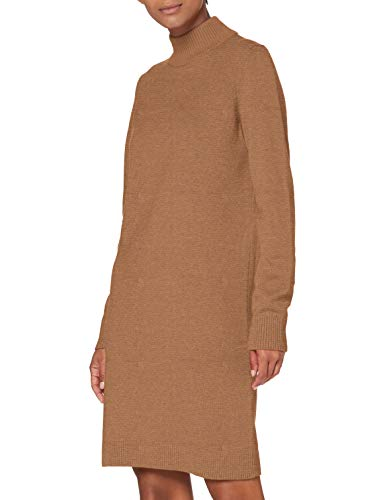 BOSS Damen C_fabelletta L ssiges Kleid, Light/Pastel Brown235, S EU