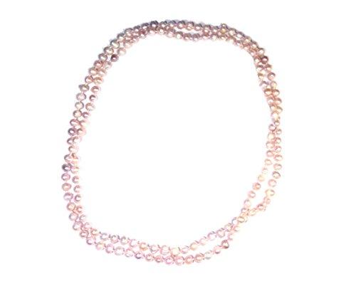 Collana Belle Epoque Perle di Fiume Handmade