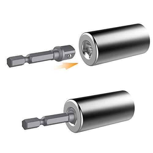 Mallalah Universele dopsleutel, 7-19 mm, dopsleutel, boormachine, adapter, drielcombinatie, auto-regolazion, voor de auto-voeding, met converter