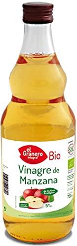 Vinagre de Manzana Ecológico. Bio. Caja de 6 Botellas de 750ml. El Granero.