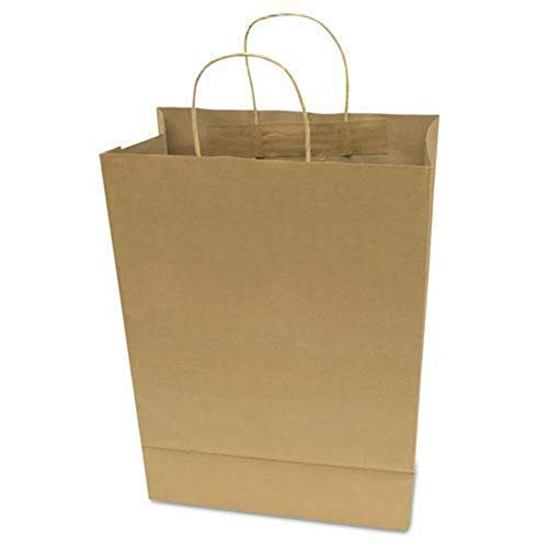 COSCO Products - COSCO - Premium Large Brown Paper Shopping Bag 17h x 12w, 50/Box - Sold As 1 Box - Made of paper. - Environmentally friendly. - Durable. - Reinforced gusset (bottom). -