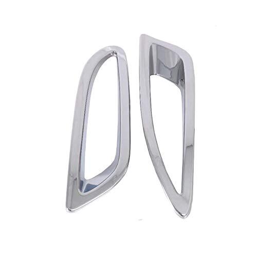 DKINCM ABS Chrom Heckstoßstange Nebelscheinwerfer Nebelscheinwerfer Lampenabdeckung Blende Rahmen, Für Mazda 6 Atenza M6 2020