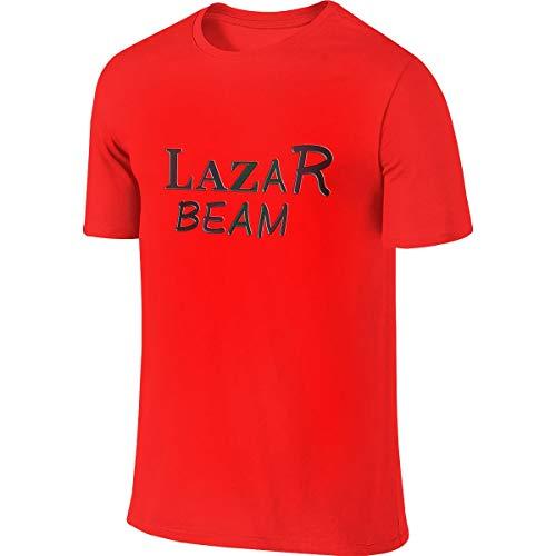Lazarbeam Jugend Männer T-Shirt Golf Poloshirts Kurzarm S-6xl Mode Hipster Streetwear Baumwolle Basic T-Shirts L