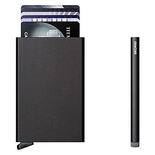 Secrid Porta-cartões Cardprotector Black - C-BLACK
