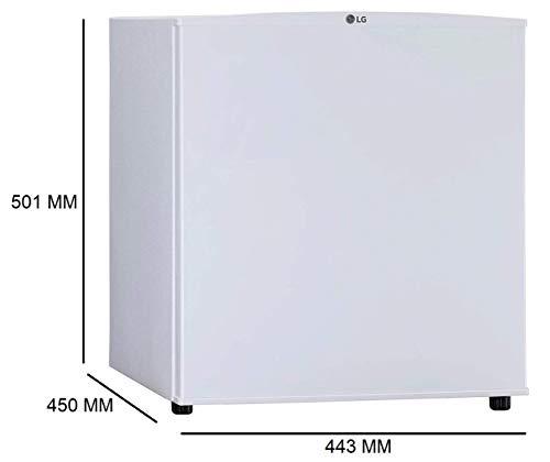 LG Mini Refrigerator 45L GL-M051RSWC White 5