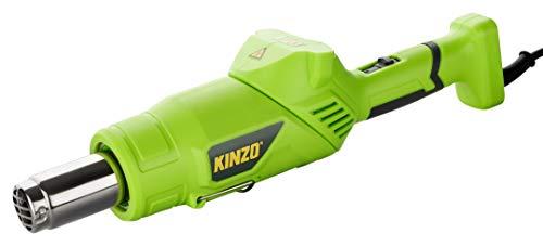 KINZO Premium 3in1 Unkrautbrenner | Grillanzünder | Heißluftfön - 8