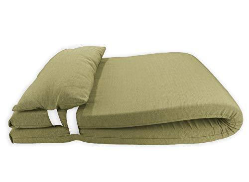 Colchón para Tumbona con Cojín. Cojín 180x60x6 Desenfundable, Cómodo y Elegante. Ideal para Jardín, Piscina, Playa,...