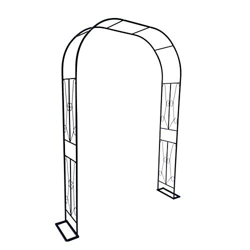 YJKJ Pérgolas De Jardín, Metal Garden Arch, Barniz para Hornear De Alta Temperatura No Se Oxida (Ancho) 180Cmx (Alto) 240Cm