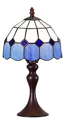 Lampe de tablemoderne rétro de luxe simple Lampe de table Mode Méditerranée Européenne Moderne Simple Chambre à coucher Lampadaire Creative Fashion Art Lampe Lampe de chevet ( Size : Brown Base )