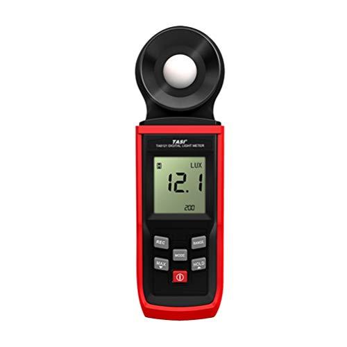 ULTECHNOVO Fotometro Digitale Ad Alta Precisione con Misuratore di Luminosità con Batteria Ideale per Giardinaggio Idroponica Agricola Indoor Outdoor