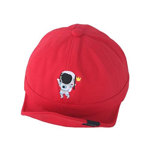 Voberry- Chapeau de Soleil pour Enfants en Tissu à Bords Doux Mode Enfants Soft Edge Sunscreen Sunscreen Baseball Hat Cap