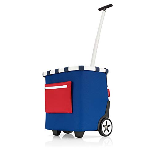 reisenthel carrycruiser Einkaufsroller Trolley 42 x 47,5 x 32 cm / 40 l / Polyester special edition nautic
