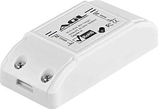 Módulo automação inteligente WiFi AGL, 01 canal, compatível com Alexa