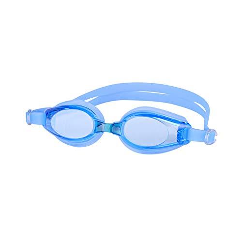 IUANUG Gafas De Natación De Competición, para Piscina Y Mar Adulto Hombre Y Mujere Anti-UV Espejo Antivaho,Azul