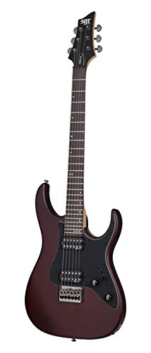 Schecter 3853 - Guitarra eléctrica, color walnut satin