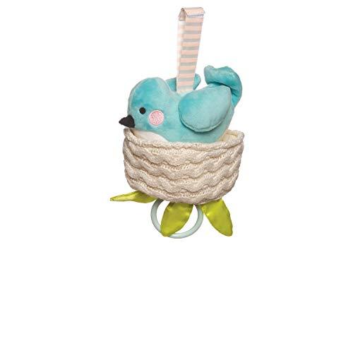 Manhattan Toy Lullaby Bird Pull-Berceau Musical et Jouet pour bébé, 216250, Multicolore