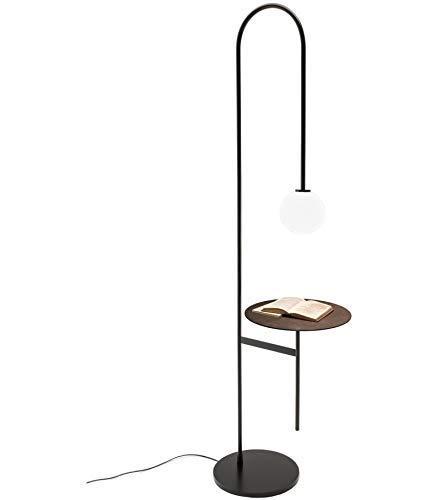 Vloerlamp met Salontafel Zwart Licht Luxe Persoonlijkheid Appartement Woonkamer Studeerkamer Vloerlamp 180CM (Maat: Warm licht)