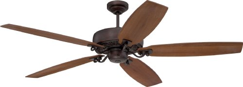 Craftmade PAT64ABZC5, Patterson Aged Bronze 64' Ceiling Fan