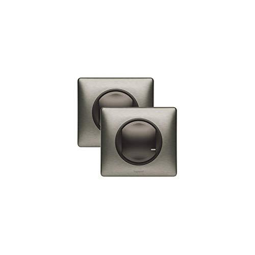 Listo para Colocar – añadir un Control para un Interruptor variador – Grafito – Legrand 067623