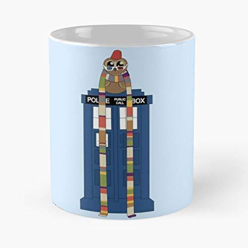 Doctor Who Doctor_Who Hoo Doctor_Hoo Owl Tardis Police Box Police_Box - Best 11 oz Kaffee-Becher - Tasse Kaffee Motive