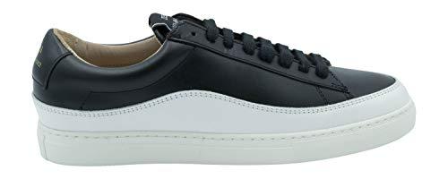 Zespà Damen Sneaker ZSP4 Wave Nappa Black/White - 37