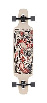 """Landyachtz Drop Carve Longboard Complete and Colors (40"""" - Drop Carve Fox)"""