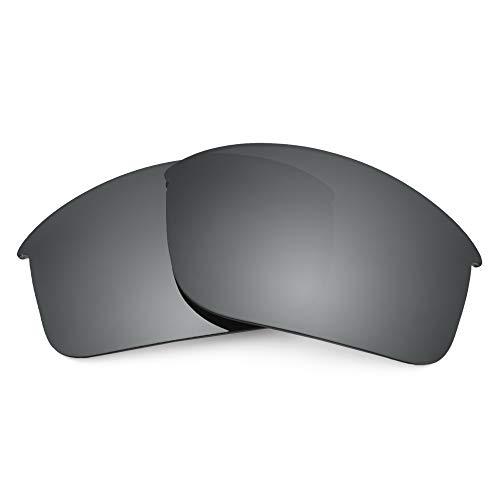 Revant REVANT Ersatzgläser Kompatibel mit Oakley Bottle Rocket, Polarisiert, Schwarz Chrome MirrorShield