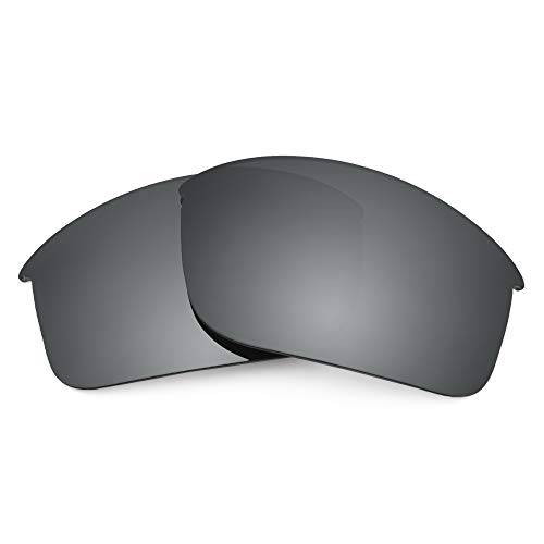 Revant Replacement Lenses for Oakley Bottle Rocket, Non-Polarized, Negro Cromado MirrorShield