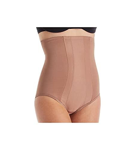 Miraclesuit - Slip da donna con bordo in vita alta - marrone - Large
