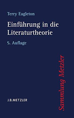 Einführung in die Literaturtheorie (Sammlung Metzler)