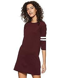 Miss Olive Crepe Shift Dress