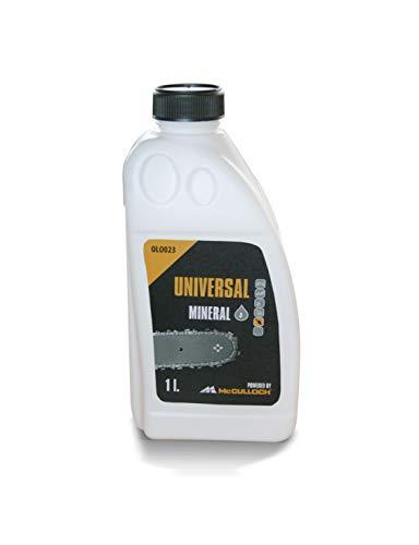 Universal Kettenhaftöl mineral. 1 L, OLO023: Ketten-Haftöl für Motorsägen, hohe Schmierwirkung, auf Basis mineralischer Grundöle, biologisch abbaubar (Artikel-Nr. 00057-76.164.23)