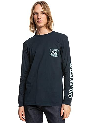 magliette uomo quiksilver Quiksilver™ Seaquest - Maglietta a Maniche Lunghe - Uomo - XXL-