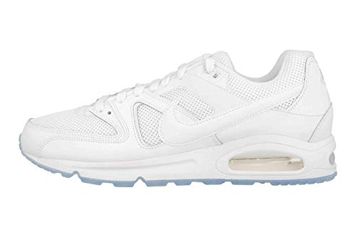 Nike Herren AIR MAX Command Hallenschuhe, Weiß (White_112), 45.5 EU