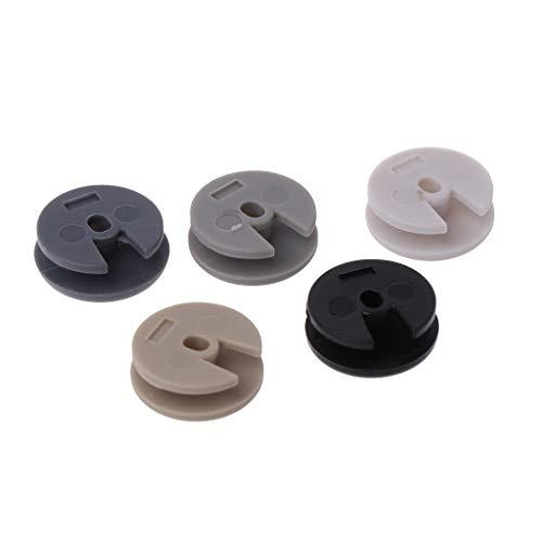 NIANNIAN Joystick 5Pcs / Set Kunststoff Ersetzen 3D Analog Controller Stick Cap 3D Joystick Cap Cover Button Für Neue 3DS 3DSLL 3DS XL