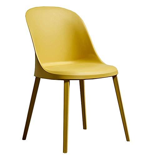 WSDSX Stuhl Modernes Design Esszimmerstühle Home Stuhl Geeignet für den Innen- und Außenbereich Kunststoff-Seitenstuhl Für Office Lounge Verwendung Idealer Terrassenstuhl oder Vertragsbestuhl
