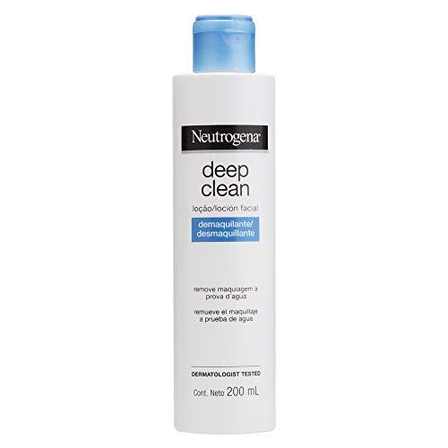 Loção Removedora de Maquiagem Deep Clean, Neutrogena, 200ml