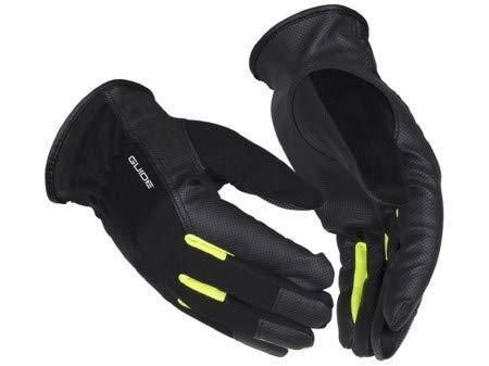 5152 GUIDE dünne, feinfühlige Schutzhandschuhe aus PU/PES (50/50) Synthetikleder schwarz Gr.11