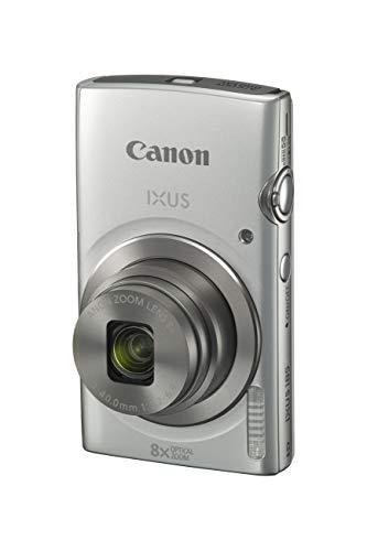 Canon IXUS 185 Digitalkamera (20 MP, DIGIC 4+, 8x optischer Zoom, 6,8cm (2,7 Zoll) LCD, Display, Smart Auto, HD Movies, USB, 720p) Kamera digital, silber