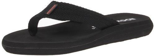 Rocket Dog Women's Sunset Flip Flop, Black, 8 M US