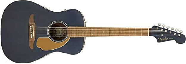 Fender Malibu Player Acoustic Guitar - Midnight Satin - Walnut Fingerboard