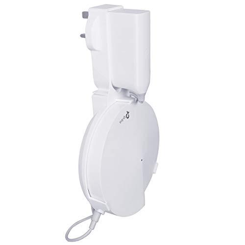BECROWMEU Wandhouder voor TP-Link Deco M9 Hele Home Mesh WiFi Systeem Routers, TP-Link Deco M9 Plus Wifi Wandsteun Plafond Beveiliging Houder Stand, 1Pack Fit UK Plug