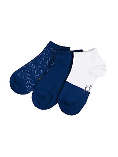 engbers Herren Sneakersocken, 29581, Blau in Größe 42