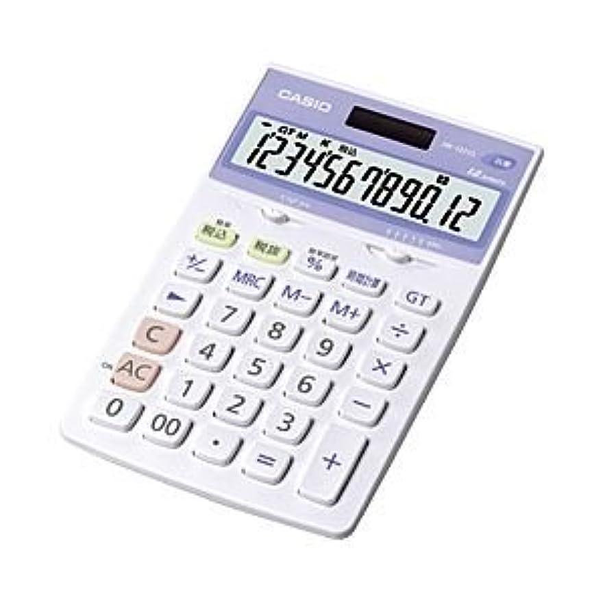 牧師あなたが良くなります始まり(業務用セット) カシオ(CASIO) 抗菌電卓 12桁 縦17.6×横10.7×厚さ2.5cm JW-122CL-N 1個 【×2セット】